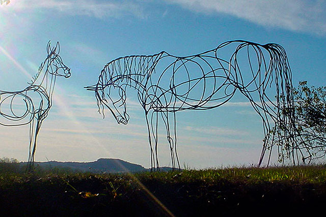 Le Cheval : le grand projet de Campagn'Art pour 2018-2019.|Photo DR