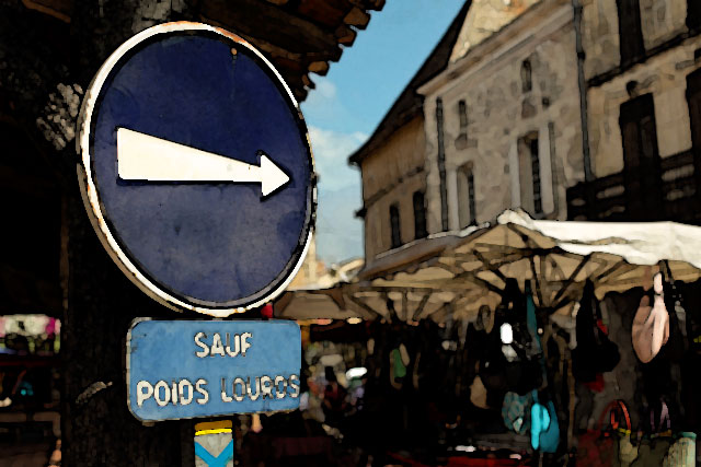 Certaines rues changent de sens de circulation...|Photo © jean-Paul Epinette - icimedia@free.fr